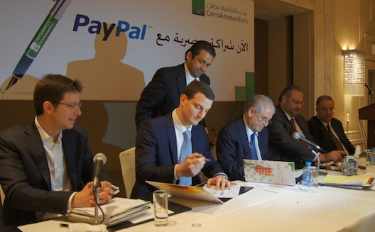 PayPal partners with Cairo Amman Bank to boost regional e-commerce