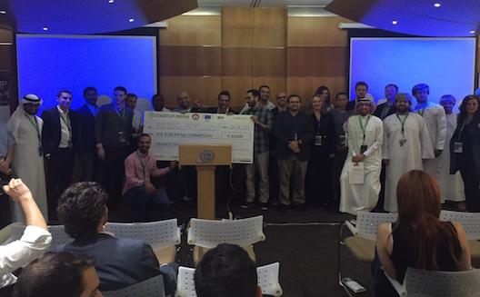 شركة للدفع عبر البلوتوث تفوز خلال عرض أفكار في دبي