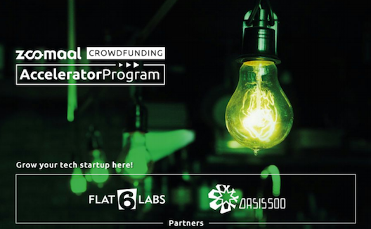 Zoomaal launches Crowdfunding Accelerator Program with Oasis500 and Flat6Labs