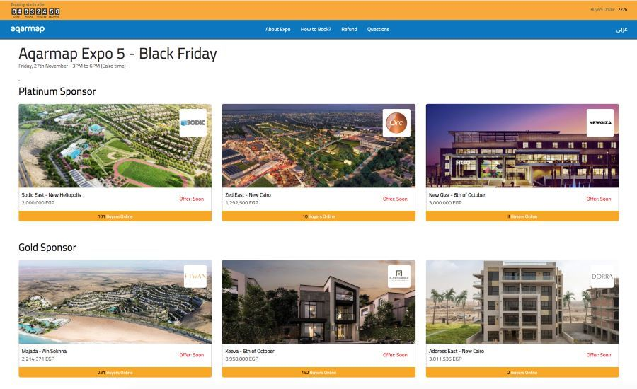 Aqarmap holds record-breaking Online Property Expo