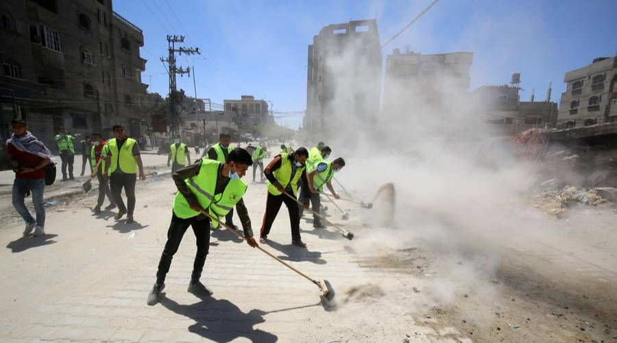 Rising from the rubble: Entrepreneurs in Gaza look to rebuild