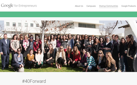 Women-led startups in Google's #40Forward network have raised $20M USD this year