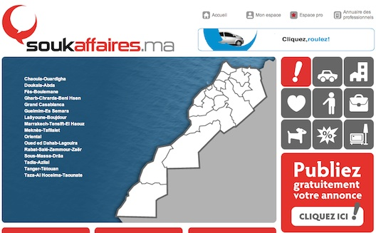 Moroccan Craigslist Competitor Soukaffaires.ma Announces $500K Investment from Maroc Numeric Fund