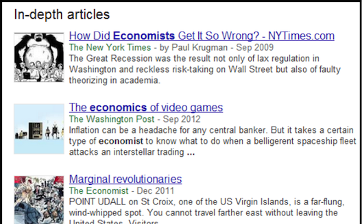 5 tips for getting your content on Google's In-Depth Articles search result