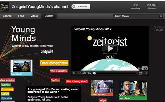 Google Zeitgeist Young Minds Competition Calls on Changemakers in MENA