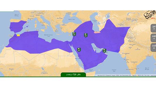 موقع مصري يعيد فهرسة العصر الاسلامي على شكل خريطة تفاعلية
