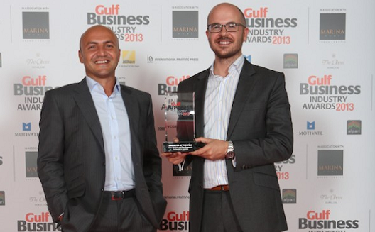 نظرة إلى الفائزين في مسابقة مجلّة جولف بيزنس لعام 2013