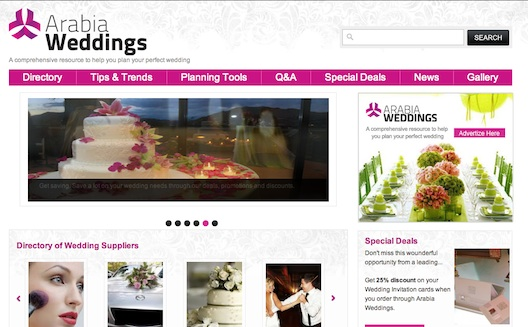 How Arabia Weddings will Transform Wedding Planning in the Middle East