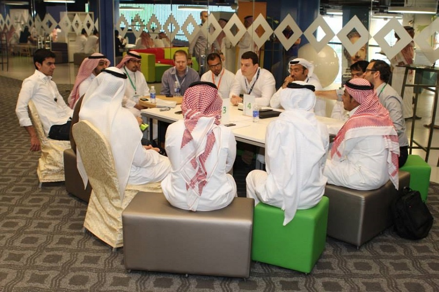Riyadh is Mix N' Mentor's first stop this year