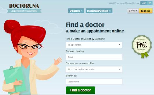 يساعد DoctorUna في دبي على إيجاد طبيب موثوق وأخذ موعد