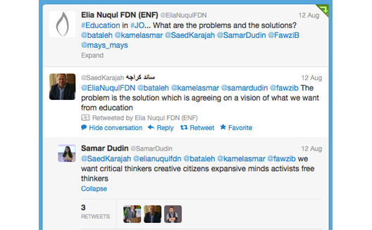 Is Social Media important for Social Good in Arabia? 5 Examples from Jordan