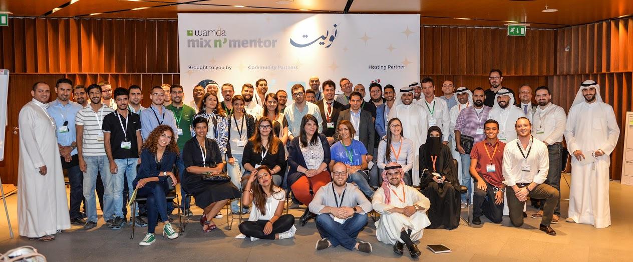 Mentorship and community building show big potential for entrepreneurs at Mix N' Mentor Nuwait