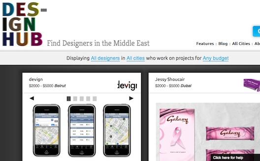 Sleek Site Design Hub Launches to Showcase MENA Freelancers