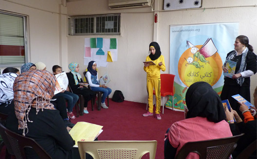One woman's quest to get kids reading in the Arab world