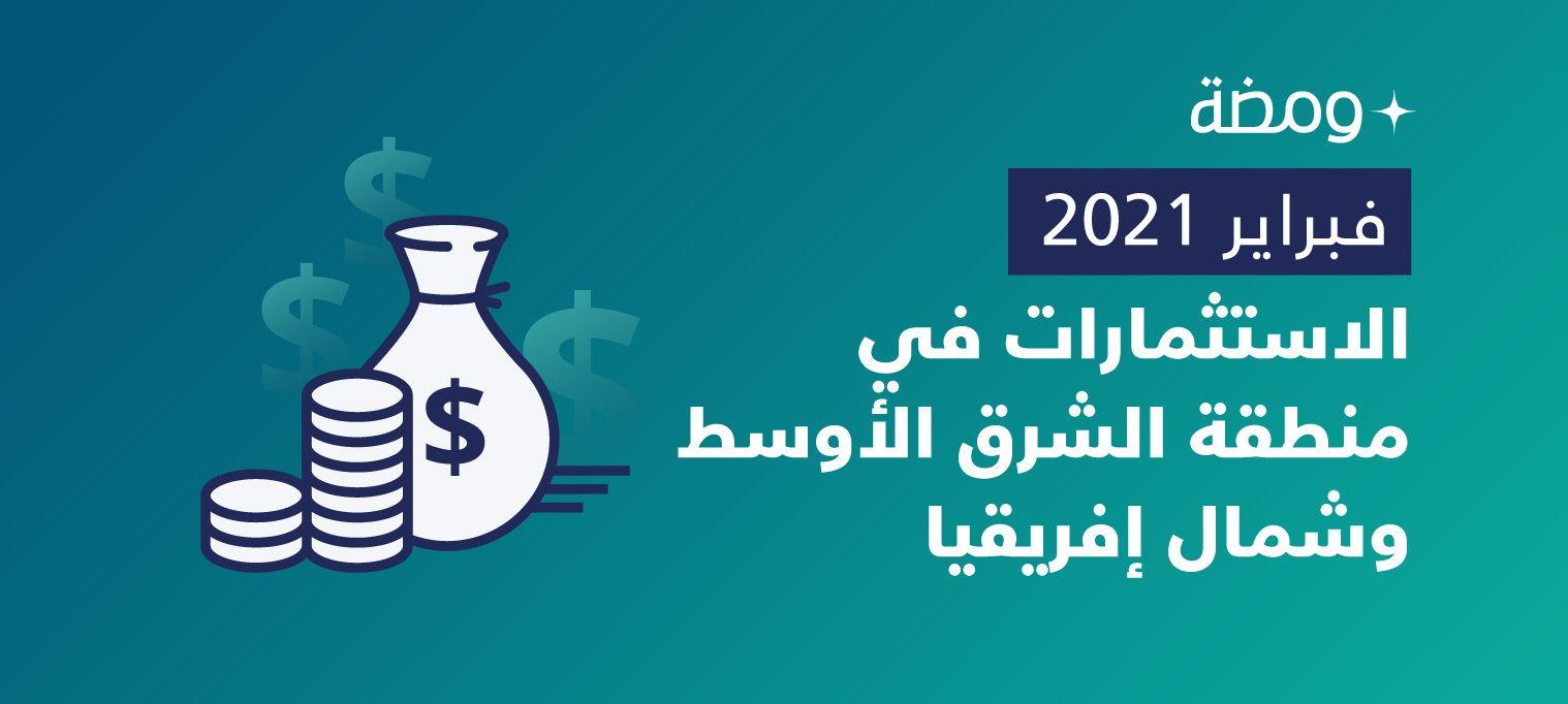 الشركات الناشئة بالشرق الأوسط تجمع استثمارات بـ160 مليون دولار خلال فبراير الماضي