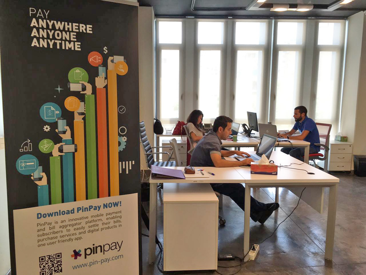 Lebanon's Pinpay, ready for the big time