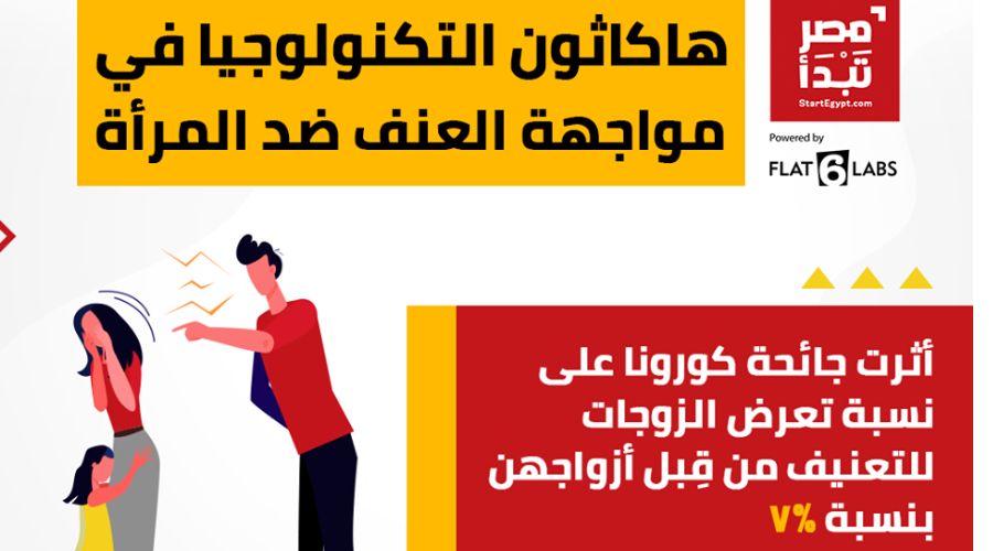 إطلاق هاكاثون تكنولوجي لمناهضة العنف ضد المرأة خلال جائحة كوفيد19
