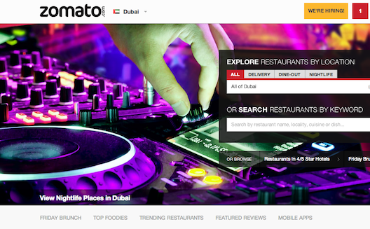 Can Indian Review Site Zomato Satisfy the Gulf?