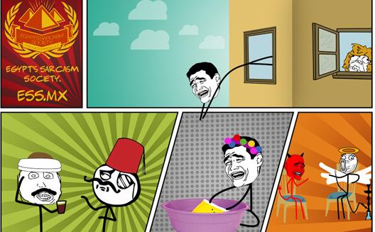 السخرية البصرية في مصر تتطور إلى بيزنس