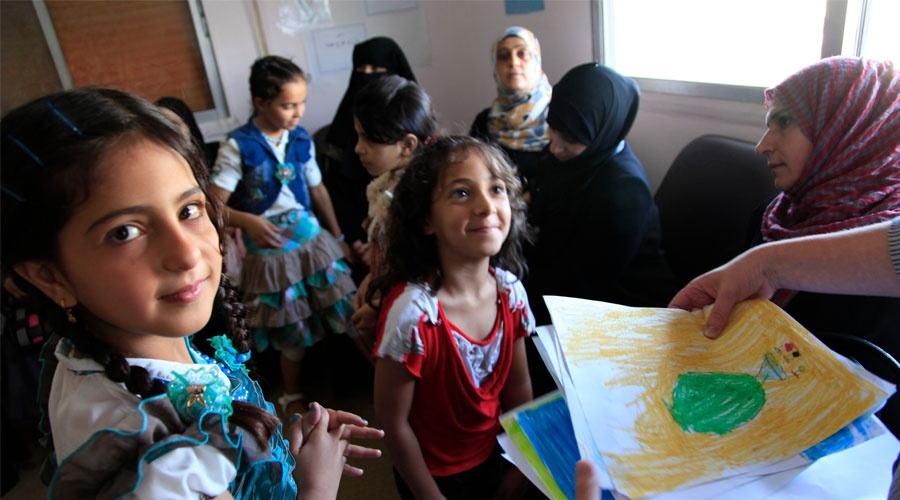Innovation in the humanitarian aid sector helps Jordan's Syrian refugees