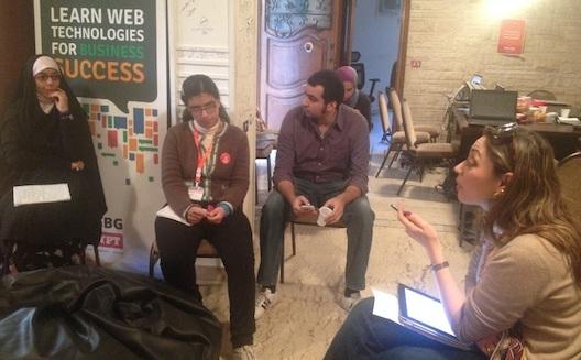 Rails Girls, a Finnish programming workshop for women, brings seminars to Cairo