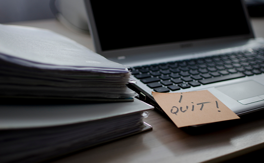 5 reasons why professionals quit their jobs