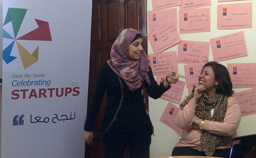 Gaza's accelerator turns to crowdfunding to keep its doors open