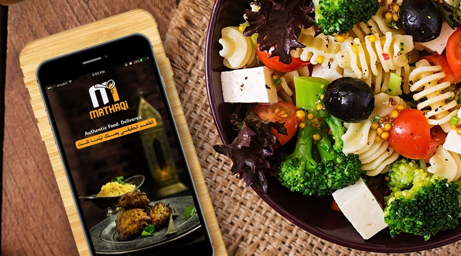 A Saudi Arabian student succeeded in home-cooked food delivery orders