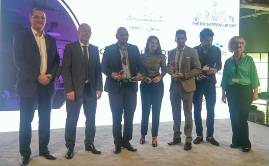 Egypt's Noongam wins top prize at The Entrepreneur Day