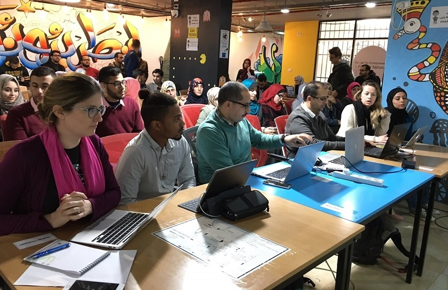Gaza hackathon solves 'lady problems'