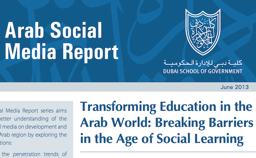 What role should social media play in classrooms in the Middle East?