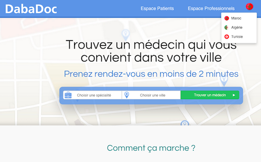 Morocco's online health service DabaDoc expands its reach