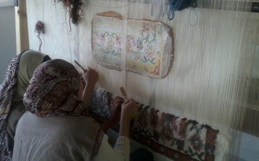 Textile Training Helps Women Out of Poverty at Artistry Egypt