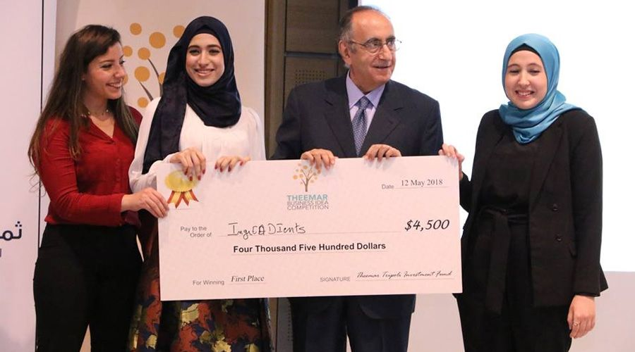 Three students teams awarded by Theemar Tripoli Investment Fund