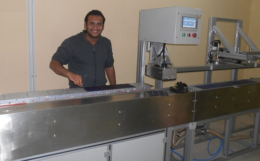 Micro-production of micro-solar launches in Egypt
