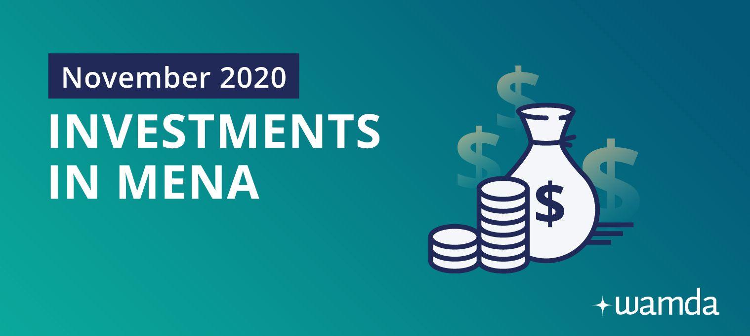 Mena startups raised $37 million in November