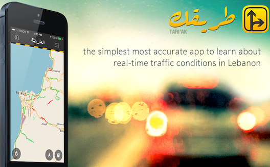 Real time traffic info + big data: meet Lebanon's latest traffic app