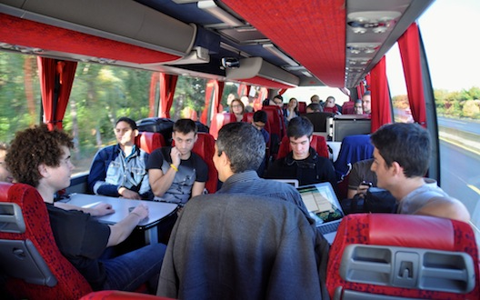 أول يوم من رحلة ستارت باص أوروبا: التأكّد من ملاءمة المنتج للسوق