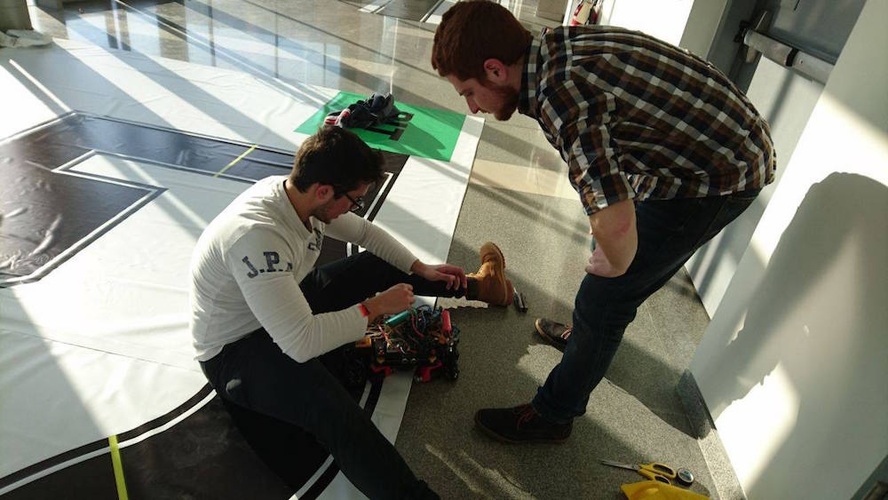 How to organise a robotics competition