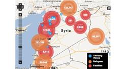 شرح المسألة السورية: Syria Deeply  ترسم خريطة النزاع عبر أدوات إعلامية جديدة