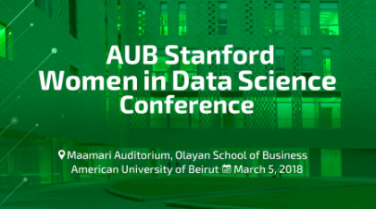 AUB Stanford Women in Data Science Conference