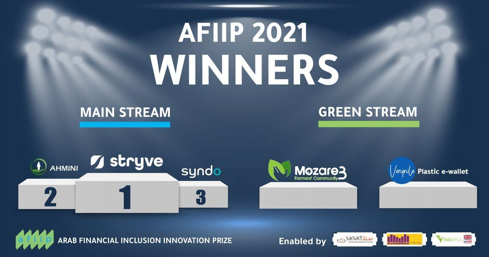 AFIIP announces winning financial inclusion innovators for 2021