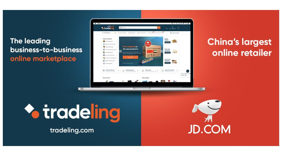 Tradeling partners with China e-commerce platform JD.com