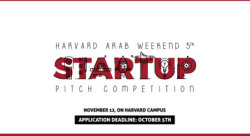 Harvard Arab Weekend Startup Pitch Competition