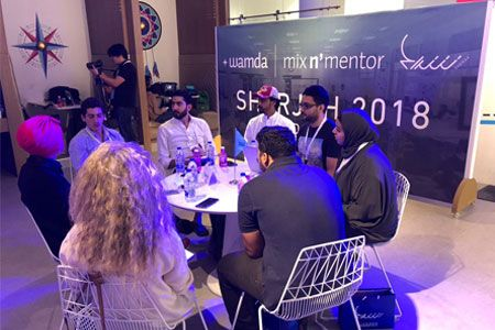 Sheraa fosters entrepreneurship: Hosts first Mix N' Mentor and showcases its Second Accelerator Cohort