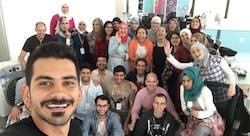 Rebootkamp's first wave of refugee coders in Jordan