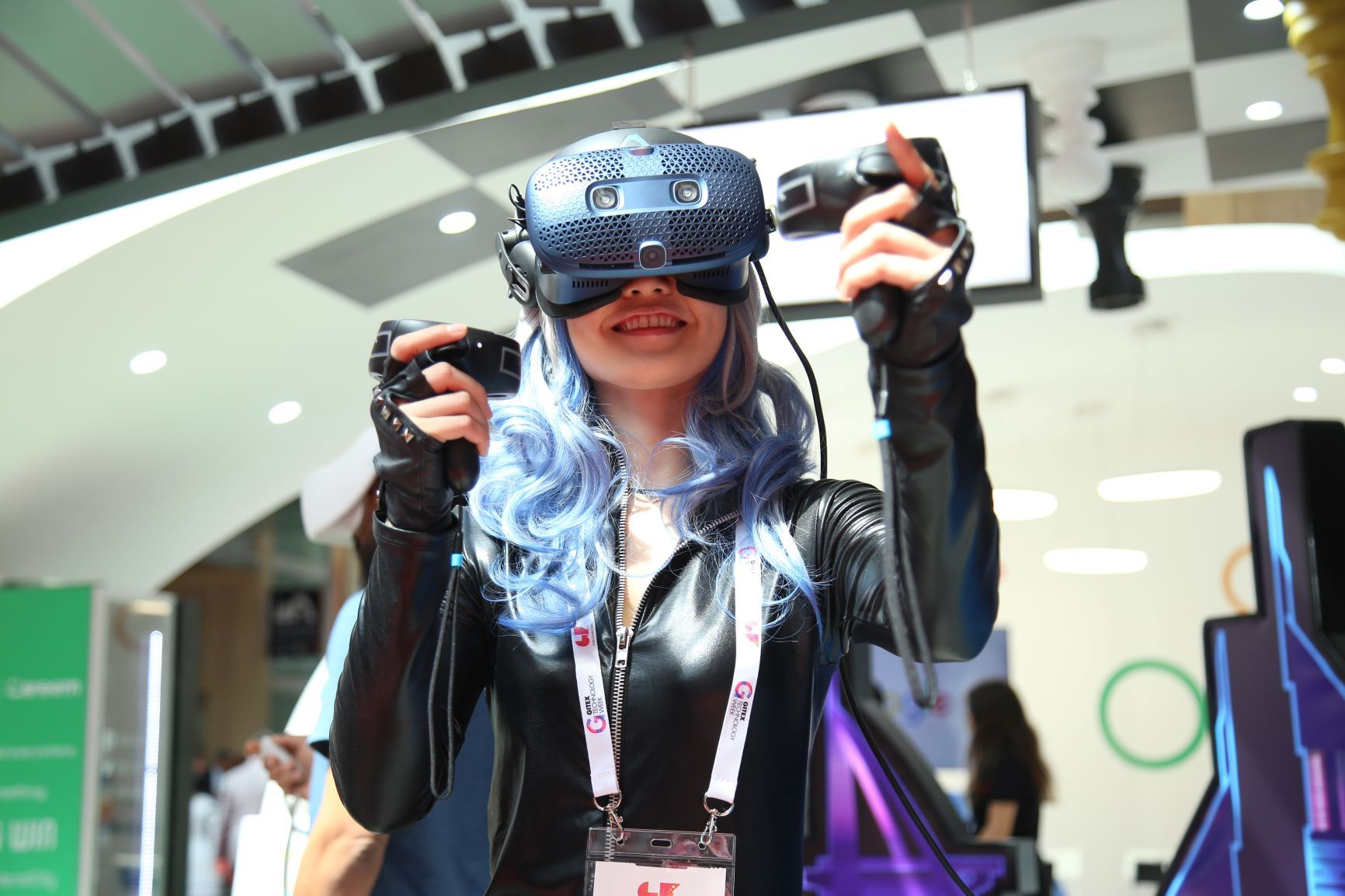 Gitex: A show dominated by Saudi Arabia and the women of the UAE