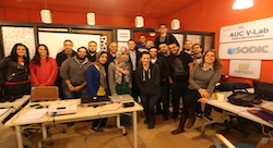 AUC V-Lab launches 10 new startups in its third round