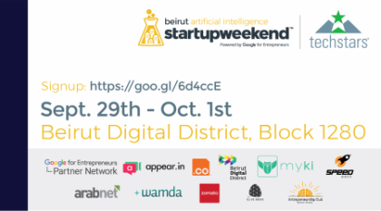 Startup Weekend Beirut Artificial Intelligence Edition