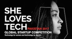 She Loves Tech Startup Competition goes to Pakistan
